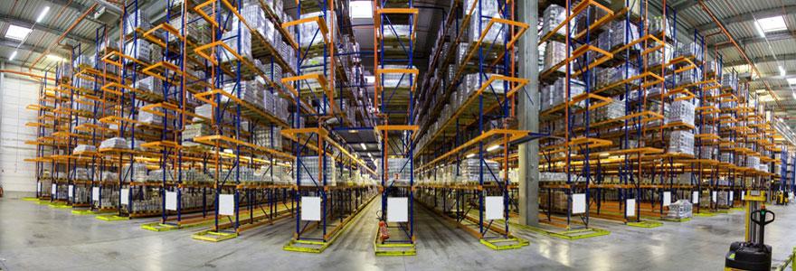Équipement pour entrepôt de logistique