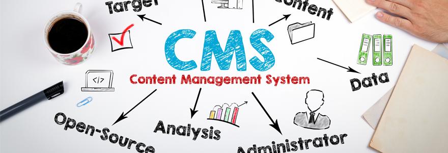 logiciels CMS